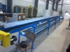 Double lane belt conveyor