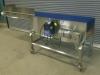 Stainless steel transfer conveyor